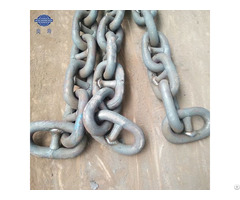 73mm Factory Price China Marine Stud Studless Link Ship Anchor Chain