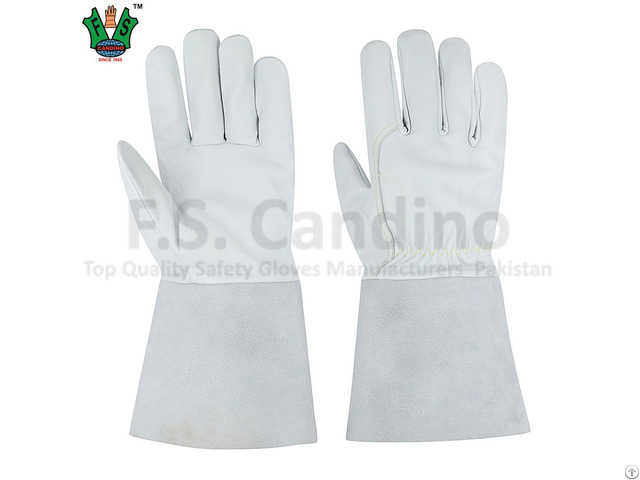 Ce Approved Heat Resistant Welding Gloves