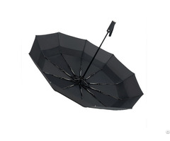 "23"" 10k Strong Auto Open And Close 3 Fold Air Vented Windproof Double Layers Umbrella"