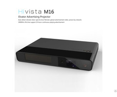 Hivista Led Elevator Advertisement Projector M16 Network Advertising Player