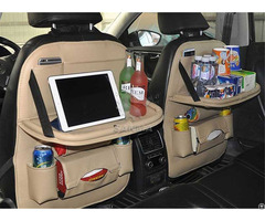 Back Seat Organizer With Tray