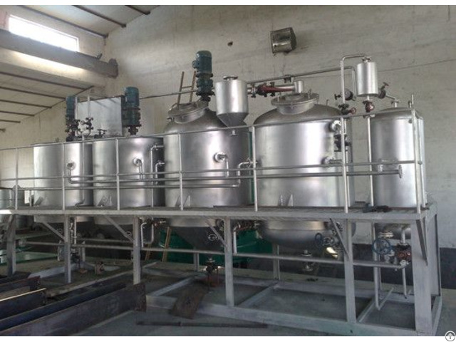 Rapeseed Oil Refining Equipment Plant