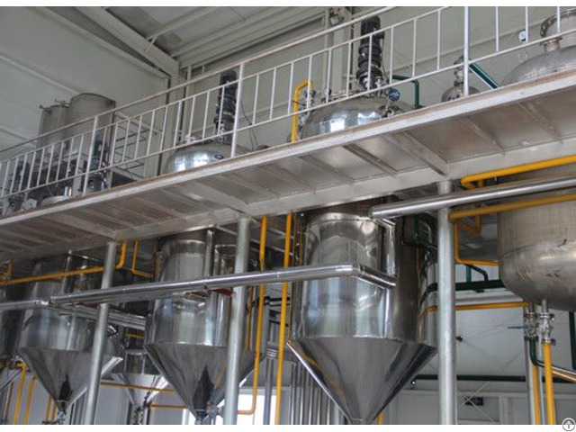 Soybean Oil Refining Machine Introduction