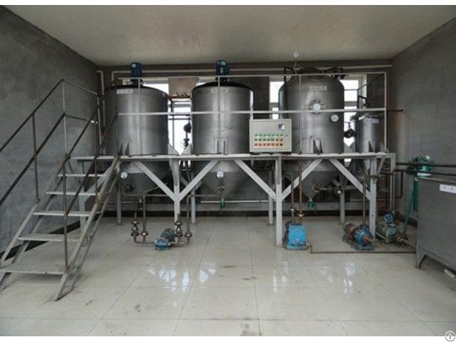 Rice Bran Oil Refining Line