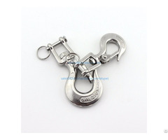 Hot Selling High Quality Cheap Price 4 Inch Swivel Lifting Hook With Jaw