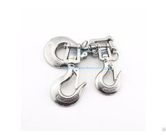 Swivel Lifting Stainless Steel Hooks And Eye Hardware