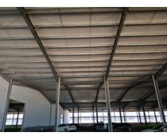 China Prefabricated Customized Light Steel Structure Hangar