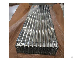 Top Level Regular Spangle Corrugated Galvanized Steel Roofing Sheet