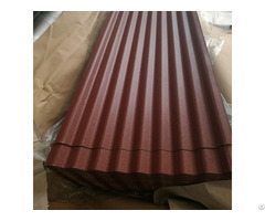 Building Material Ppgi Color Prepainted Galvanized Corrugated Steel Metal Zinc Coated Roofing Sheet