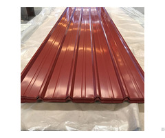 Colour Coated Box Profiled Steel Roofing Sheets Waterproof