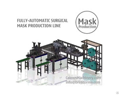 Fully Automatic Medical Surgical Mask Making Machine Production Line