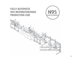 Fully Automatic N95 Respirator Face Mask Making Machine Production Line