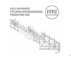 Fully Automatic Ffp2 Kf94 Respirator Mask Making Machine Production Line