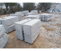 Whosaler Grey Granite Retaining Wall Stone