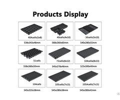 Cheap 40 50 51 72 104 105cell Propagation Trays Wholesale