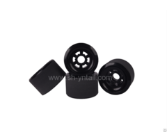 Black Pu Pulley For Skate Board