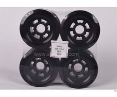 Black Pu Pulley For Skate Board 80 52