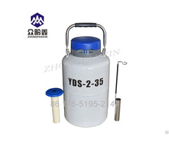 Yds2 35 2l Small Portable Liquid Nitrogen Semen Tanks Plant