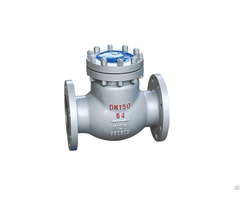 Din Flange Cast Steel Swing Check Valve