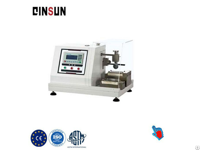 Gloves Cut Resistance Testing Machine