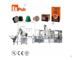 Coffee Capsule Packaging Machine