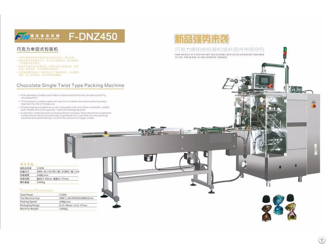 Full Automatic Chocolate Single Twist Packing Machine