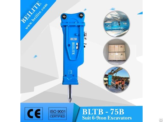 Bltb 75 Hydraulic Breaker Hammer For 6 9 Ton Loader