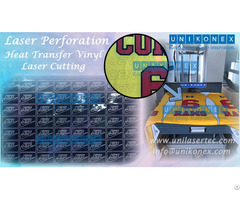 Unikonex Laser Perforation And Heat Transfer Vinyl Cutting