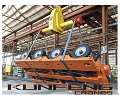 Frame Load Turning Device To Flip Workpiece Used By Crane