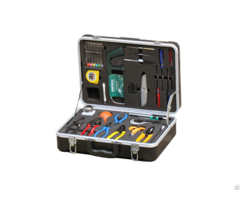 Fiber Optic Basic Tool Kit With Tri Hole Scissors Buffer Tube Stripper X 20a