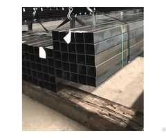 Erw Mild Steel Hot Rolled Black Welded Square Structural Hollow Section Shape Pipe Tube
