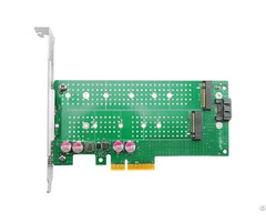 Linkreal M 2 Nvme Ssd Ngff To Pcie X4 Adapter Card Dual Interface