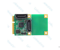 Linkreal Mini Pcie To 2 Port Sata 3 0 Adapter Expansion Card