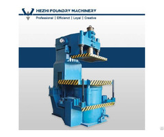 Green Sand Jolt Squeeze Molding Machine Compact Table Moulding Equipment