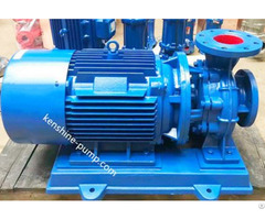 Isw Horizontal Pipeline Booster Water Pump