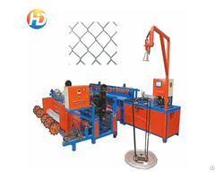 Single Wire Fully Automatic Chain Link Fence Machine