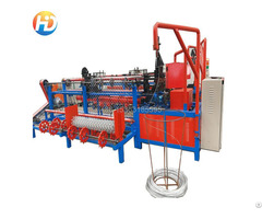 Double Wire Fully Automatic Chain Link Fence Machine