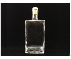 Spirit Bottle Main Material Super Flint Glass