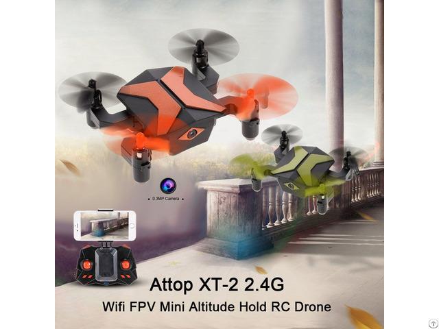 Xt 2 G Sensor Altitude Hold Mini Rc Quadcopter Drone Rtf