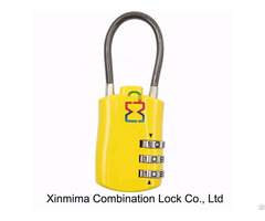 Cable Wire Combination Padlock Xmm 8803