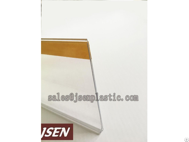 Shelf Label Holder Plastic Data Strip For Supermarket Or Warehouse Dbr39