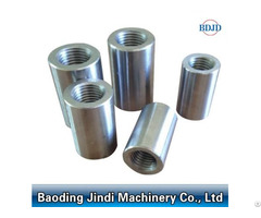 Parallel Thread Construction Material Steel Rebar Coupler