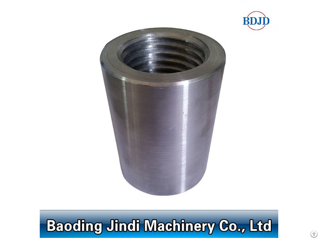 Building Material Threaded Rebar Coupler Bar Splicing Sleeve