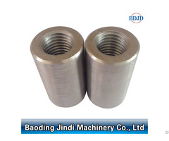 Building Material Threaded Connecting Upsetting Rebar Couplers D12 50