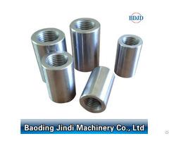 Parallel Thread Construction Material Steel Rebar Coupler