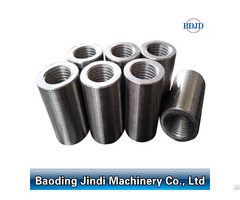 Construction Material Parallel Thread Rebar Coupler With Competitive Price