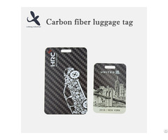 Ls Carbon Fiber Luggage Tag