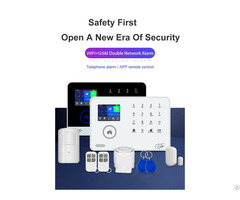 Wireless Wifi Gsm 3g Intruder Home Secuirty Alarm System