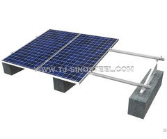 Solar Roof Mounting System Hot Dipped Galvanized Steel