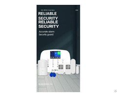 Home Security Wifi Gsm 3g Alarm System House Intruder Anti Theft Kit